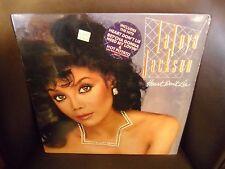 LaToya Jackson Heart Don't Lie LP Private I 1984 VG+ in shrink w/hype sticker