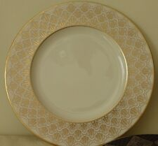 """LENOX JACQUARD GOLD 9 1/4"""" ACCENT LUNCHEON PLATE"""