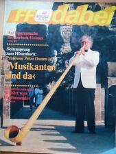 FF DABEI 40 - 1987 * TV: 28.9.-4.10. Musikanten Petra Zieger & Band Marga Legal