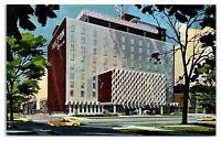 1960s Hilton Inn, Milwaukee, WI Postcard