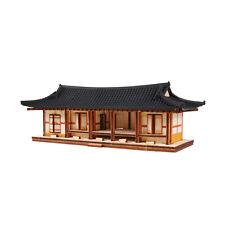 YM605 Ho Series / Korea Traditional Tile-roofed House / Wooden Model Kit