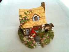 Wee Forest Folk, M-172  Red Riding Hood at Grandmother