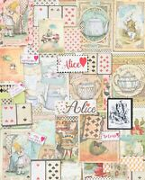Alice In Wonderland Junk Journal Supplies Stamperia Pictures, Alice Quotes, Tags