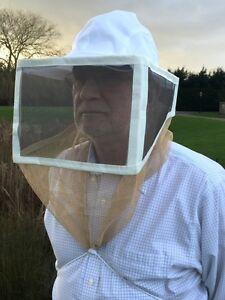 Quadratisch Faltbar Schleier - Imkerei, Bienenzucht, Schutz Bekleidung