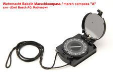 """Wehrmacht Bakelit Marsch Kompass """"A"""",cxn,Bussole,ww2 army bakelite march compass"""