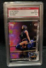 BILLIE KAY SEXY DIVA  TOPPS ROOKIE CARD EMC GRADED 10 MINT WWE