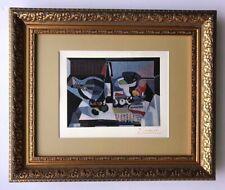Pablo Picasso Original 1948 Hermoso Firmado Estampado Mate 11 X 14 + Del