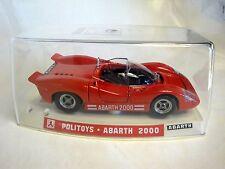 1/25 POLITOYS POLISTIL S584 ABARTH 2000