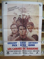 A3071 Los cañones de Navarone Gregory Peck, David Niven, Richard Harris, Anthony