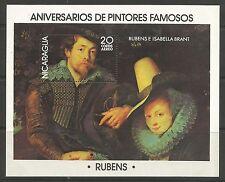 NICARAGUA. 1978. Paintings Miniature Sheet. SG: MS2144. Unused.