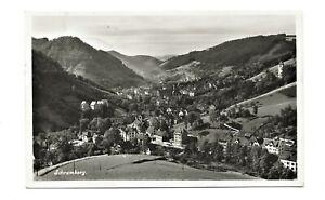 Schramberg 1935 Panorama Krs Rottweil mit Bahnpost - Stempel