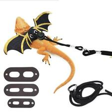 Reptile Lizard Gecko Bearded Dragon Harness and Leash Adjustable Strap