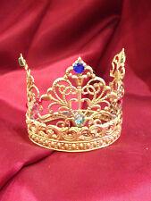 5,5 cm corona per santi Regina aperta crown ottone Madonna rosario Maria statua