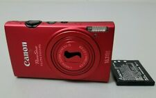 Canon PowerShot Digital ELPH 110 HS 16.1 MP Digital Camera Red *Fair/tested*