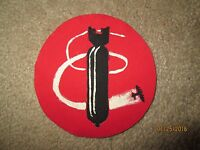 WWII US Army Air Force bomb Squadron Patch 709th Bombrdment AAF