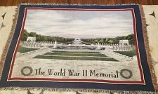 Pure Country Weavers World War II Memorial Woven Tapestry Throw Blanket 72×54