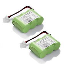 2x 600mAh 3.6V Replacement Battery For Vtech BT-17333 BT-27333 CS2111 CS51213