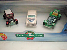 Hot Wheels Vintage Hot Rods (3)Christmas 2000-Ford Vicky/Purple Passion/Sweet 16