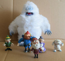 Rudolph & Misfit Toys lot of figures Abominable Snow Monster Snowman Santa Claus
