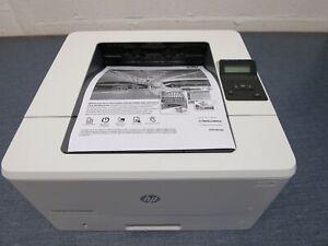 HP LASERJET PRO M402DN LASER PRINTER  LOW PAGE COUNT UNDER 3300  - 100% TONER