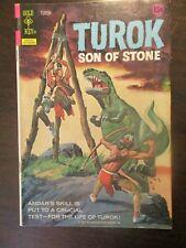 TUROK SON OF STONE #80 FINE- GOLD KEY COMICS 1972