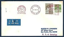 M/S ANCONA Paquebot Naval Cover East Asiatic Company
