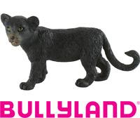 Figurine Panthère Noir Disney Le Livre de la Jungle Peint à Main Bullyland 63603