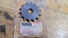 NOS OEM Yamaha Drive Sprocket 14T 1978-1980 YZ80E /F/G 2J5-17461-40