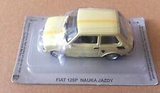 """Die Cast """" Fiat 126 Nauka Jazdy """" Car of the 'Est Scale 1/43"""