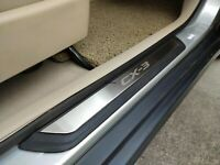 For Mazda CX-3 CX3 Car Accessories Door Sill Cover Scuff Plate Protector Sticker