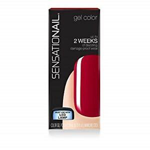 Sensationail Gel Nail Polish Juicy Sangria 71604 must use with UV/LED Light