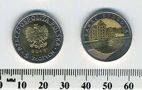 Poland 2015 - 5 Zlotych Bi-Metallic Coin - Collectible - Kanal Bydgoski