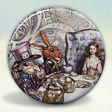 Alice at The Mad Tea Party Pocket Mirror Rackham