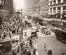 1920s downtown Chicago, State Street photo picture CHOICE 5x7 or request 8x10 or