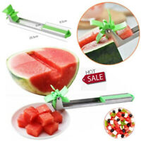 1x Watermelon Tongs Corer Fruit Melon Stainless Steel Tools