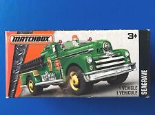 2016 Matchbox Power Grabs 1952 SEAGRAVE CLASSIC fire engine - mint in box!