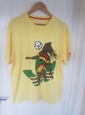 Adidas Originales Rasta Bob Marley Fútbol Camiseta Top Talla XL-Vintage Old Skool