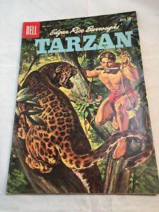 Dell Comic Book- Edgar Rice Burroughs' Tarzan- #114, Sept/Oct 1959 - VG+ - A1584