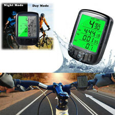 Waterproof Wireless LCD Digital Cycle Bike Computer Bicycle Speedometer Odometer