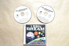 100% DREAM  VOL.I-II CD   1996  INCLUYE 2 CD +  LIBRETO  COMO NUEVO 23 TRACKS