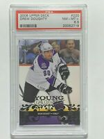2008 Drew Doughty Upper Deck Young Guns #220 Rookie RC Card PSA 8.5 LA Kings