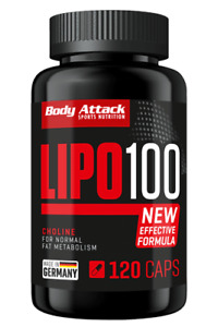 Body Attack LIPO 100 - 120 Caps Kapseln