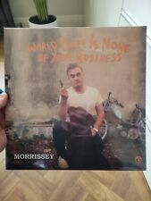 MORRISSEY- World Peace Is None Of Your Business LP sealed 1st press 2014 SMITHS
