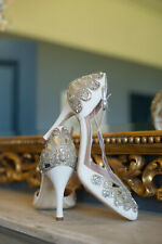 Emmy London Designer Wedding Shoes Size UK 5