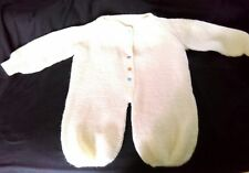 NEWBORN Yellow KNIT one piece outfit , snap down front Baby clothes