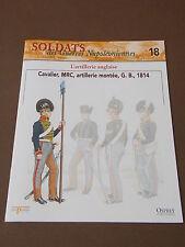 Fascicule N°18 Del Prado Soldat Guerre Napoléon Cavalier Artillerie Montée 1814