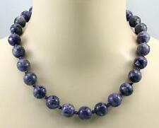 Charoit Kette - lila Charoit aus Russland mit Amethyst Halskette für Damen 50 cm