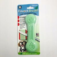 Pet Qwerks Flavorit Breath Dog Bone Mint Flavored Nylon for Aggressive Chewers