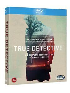 True Detective: Seasons 1 + 2 Box Blu Ray