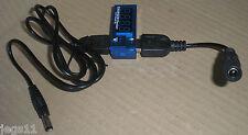 USB & DC 5.5mm/2.1 Charger-Power Current & Voltage Tester 5v <3A 3.5v 4.5v 6v